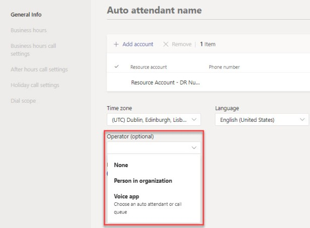 Microsoft Teams Auto Attendants & Call Queues-11