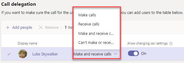 Microsoft Teams Group Call Pickup & Delegates-01