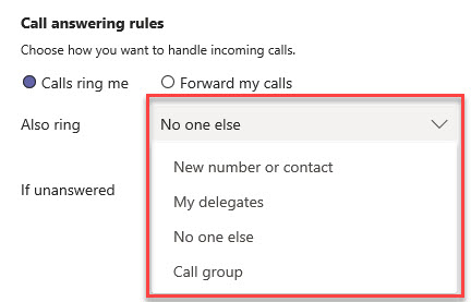 Microsoft Teams Group Call Pickup & Delegates-21