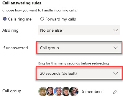 Microsoft Teams Group Call Pickup & Delegates-22
