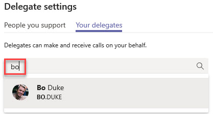 Microsoft Teams Group Call Pickup & Delegates-24