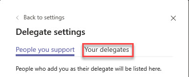 Microsoft Teams Group Call Pickup & Delegates-26