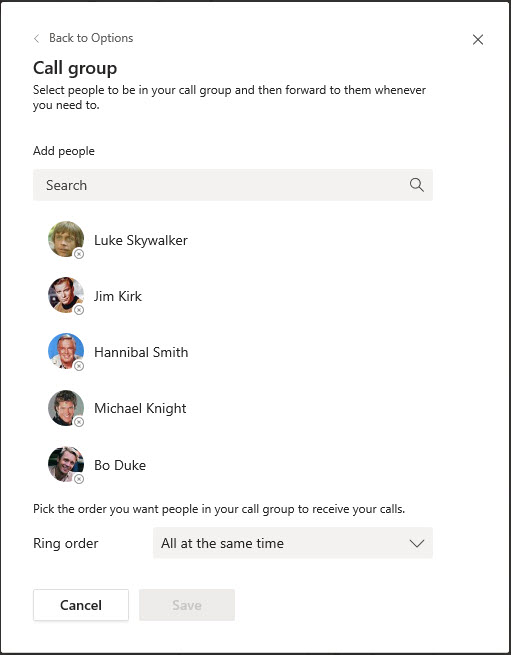 Microsoft Teams Group Call Pickup & Delegates-30