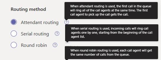 routing method
