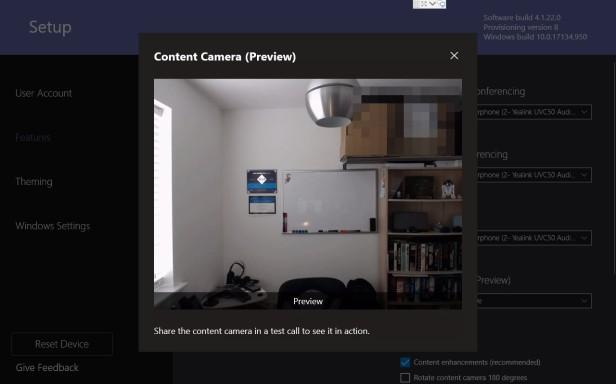 Microsoft Teams Room Content Camera-09