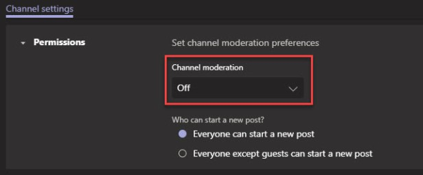 Teams Channel Moderation-07
